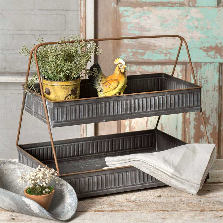 Corrugated Two Tier Caddy