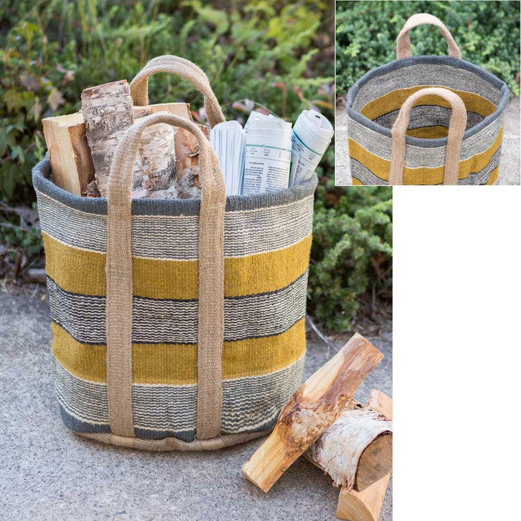 Goldenrod Barrel Bag