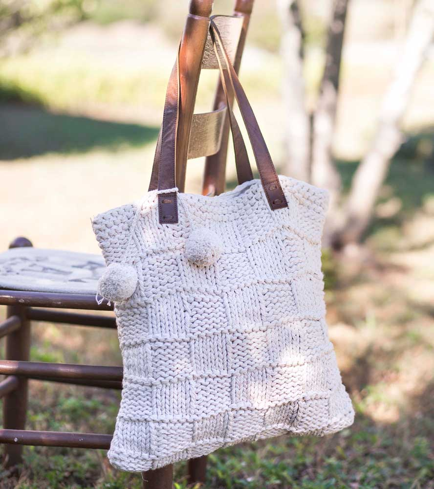 Cotton Macrame Bag