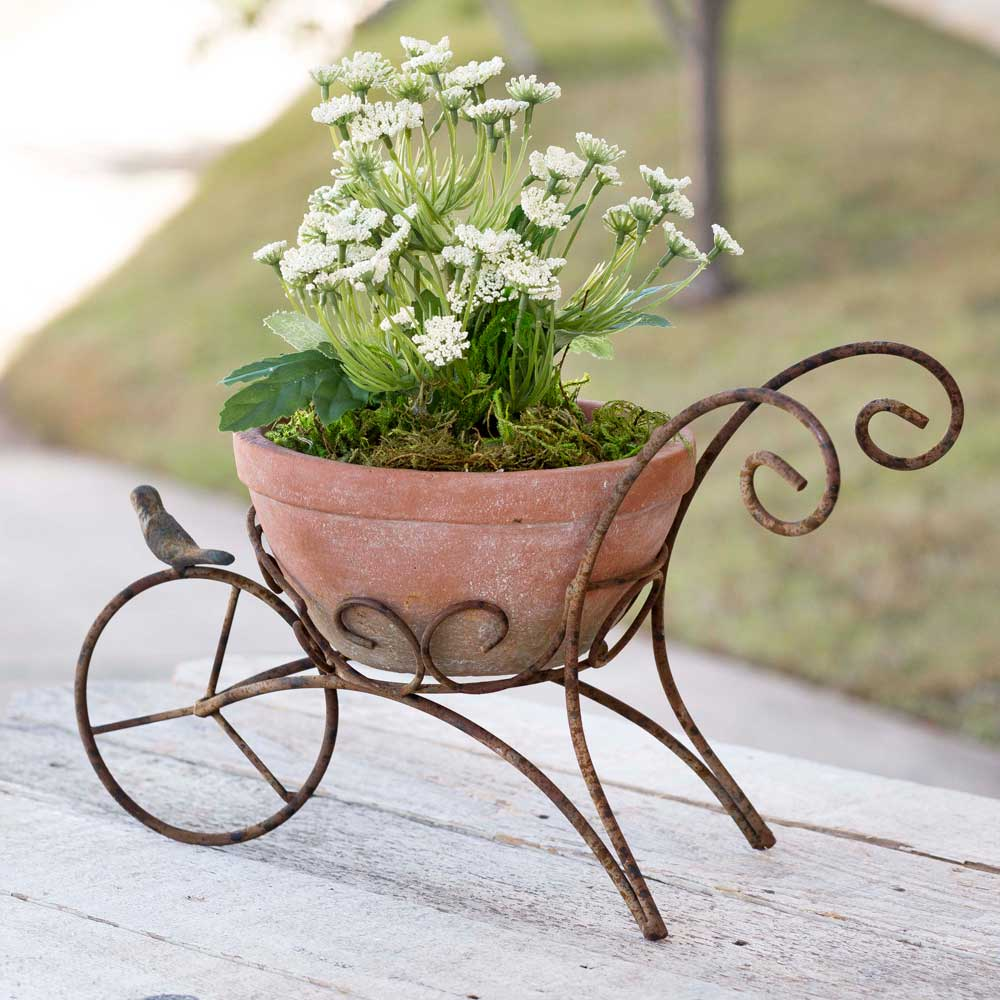 Wheelbarrow Planter