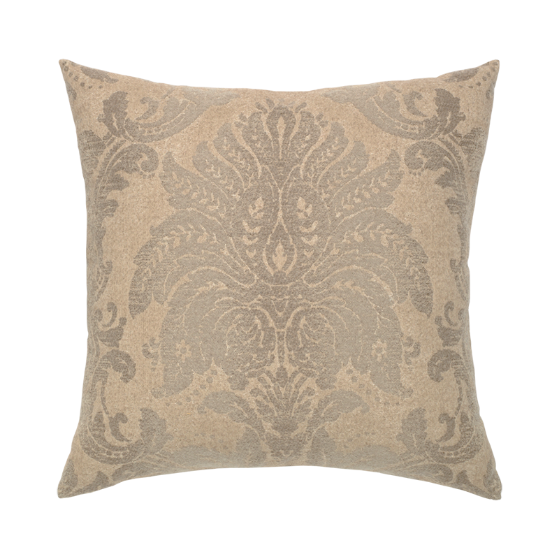 Silken Damask Outdoor Pillow Elaine Smith