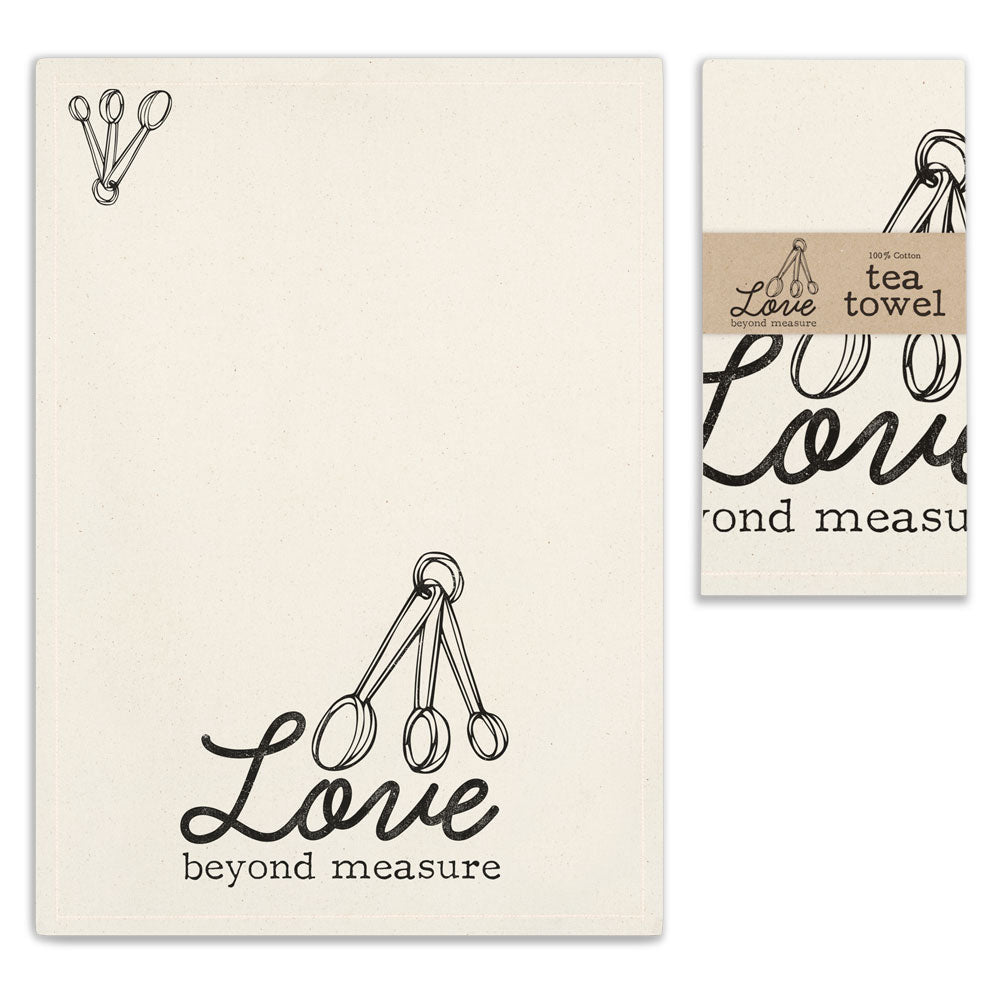 Love Beyond Measure Tea Towel | Set of 4