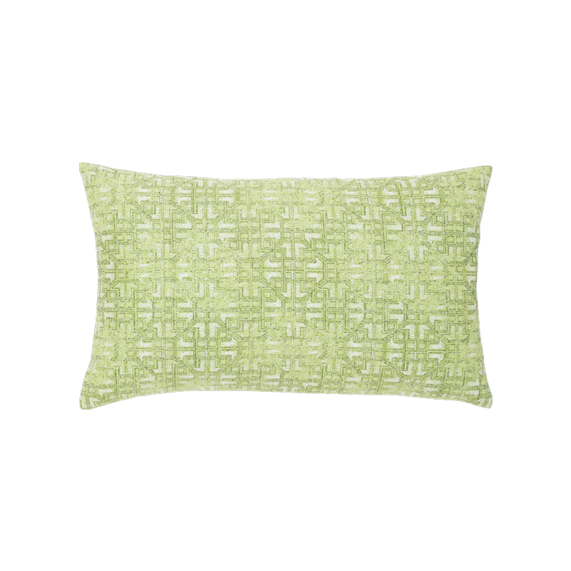 "Gate Greenery Outdoor Pillows 12""x20"""
