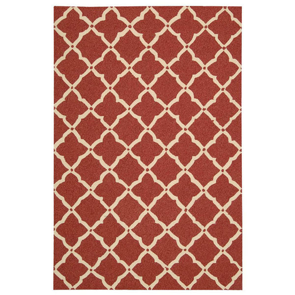 Elements Rug Red