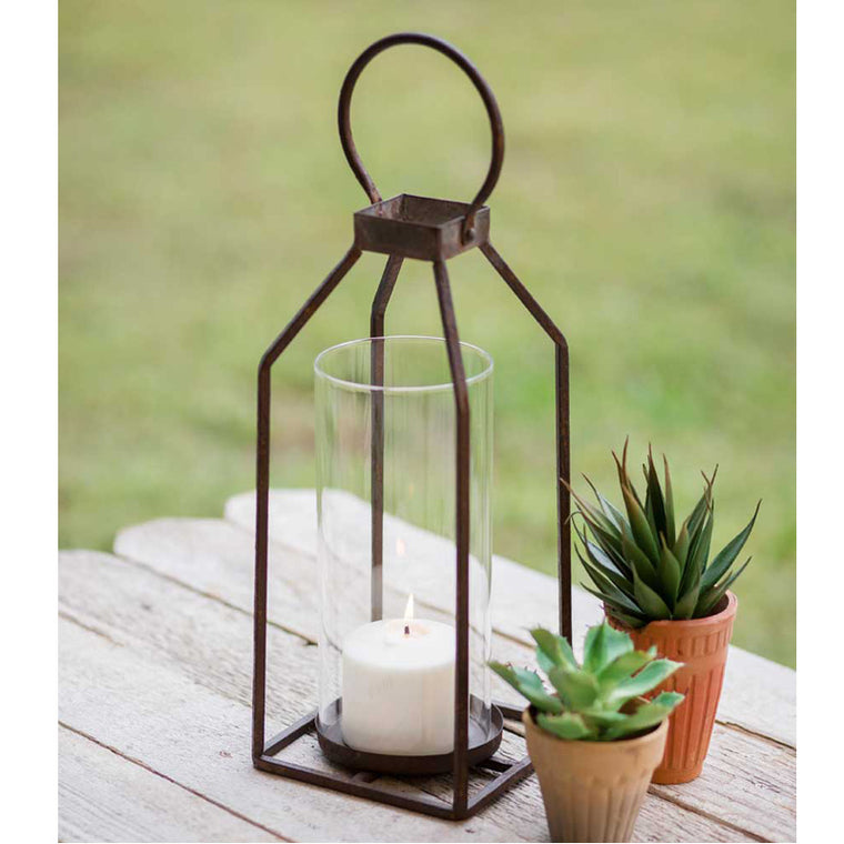 Greenville Pillar Candle Lantern - Small