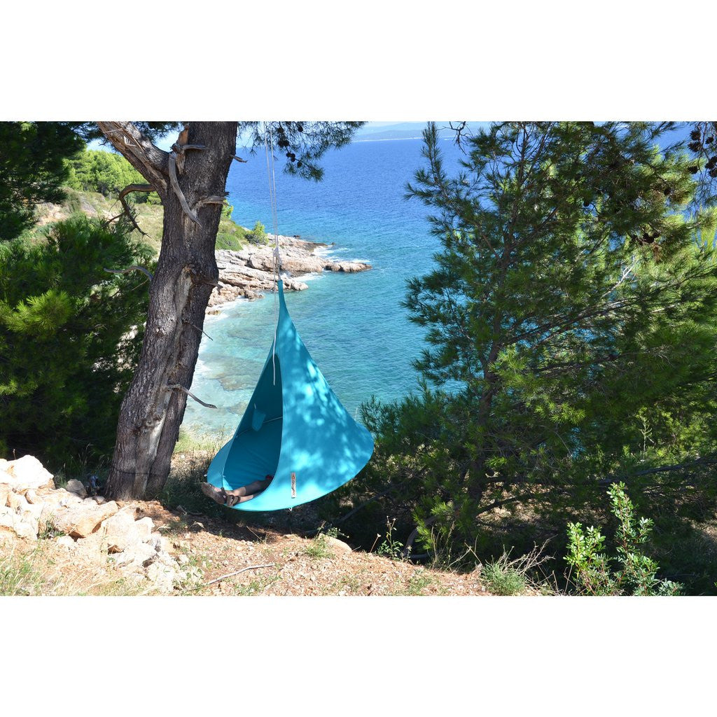 Turquoise Cacoon by the coast