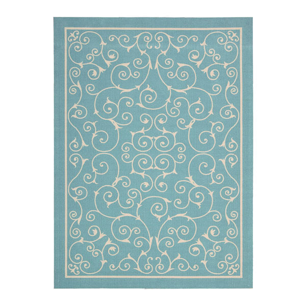 Monaco Rug Light Blue
