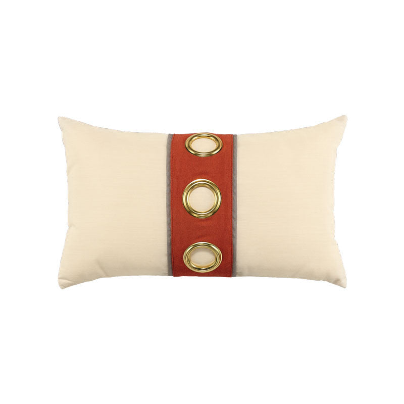 Coral Cruise Vertical Lumbar Pillow