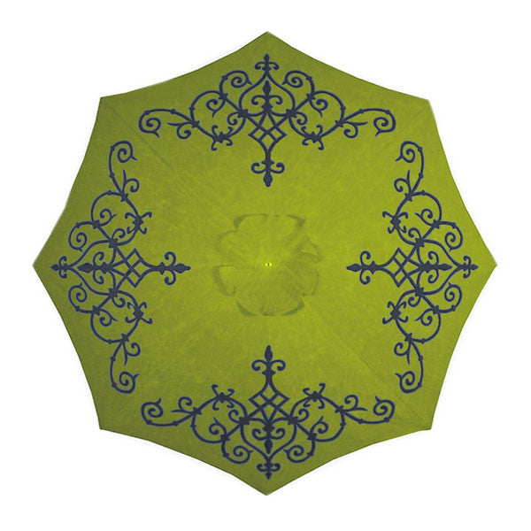 Alice Hand-Painted Patio Umbrella | More Colors Available