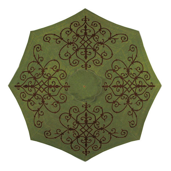 Alura Hand-Painted Patio Umbrella | More Colors Available