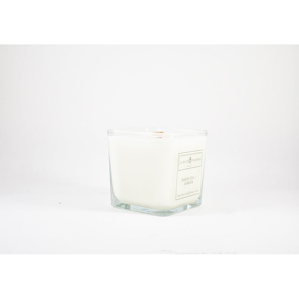 Gentlemen Wooden Wick Candle