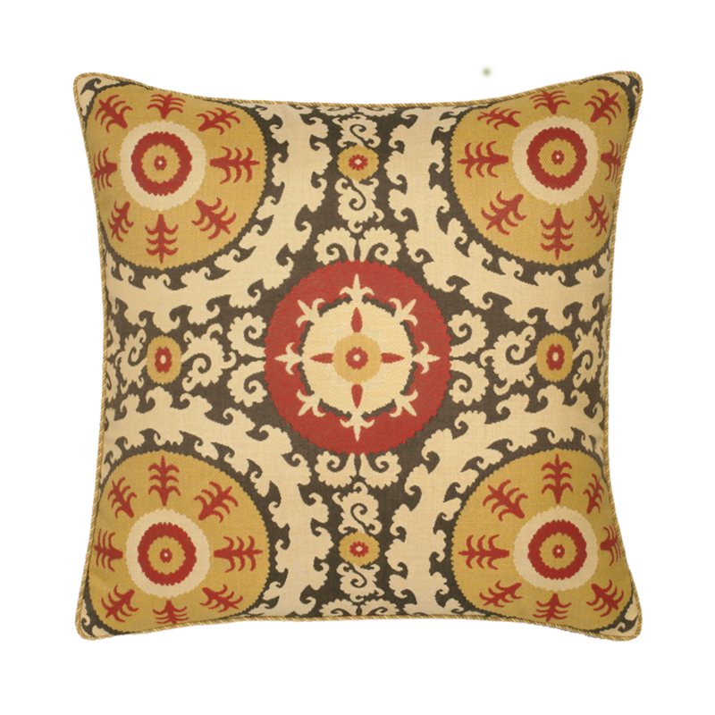 Suzani outdoor pillows by elaine smith