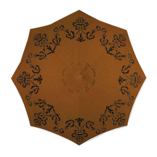 Joyce Hand Painted Patio Umbrella | More Colors Available