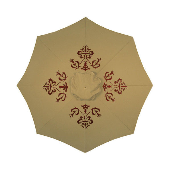 Sabel Hand Painted Patio Umbrella | More Colors Available