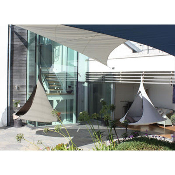 Songo Earth and Songo Moon in a contemporary patio