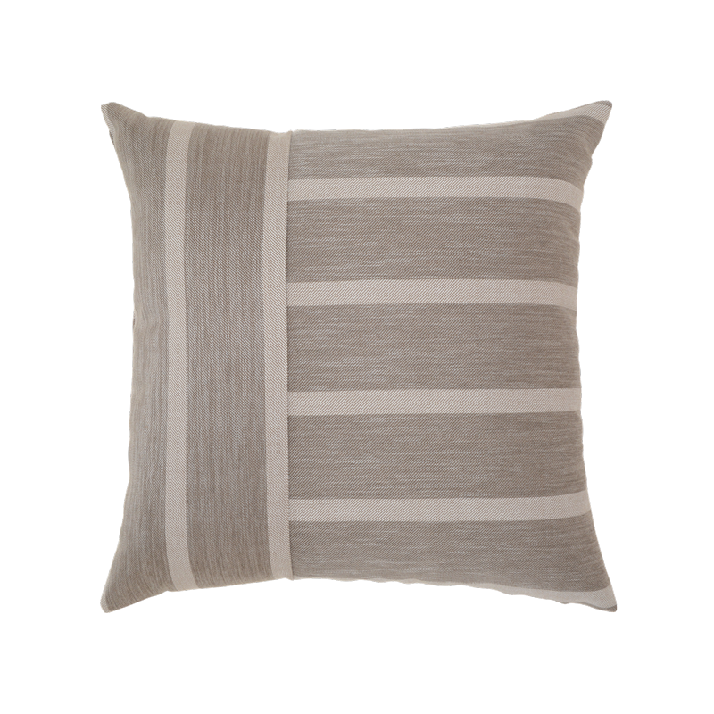Sparkely Stripe Grey Pillow Indoor/Outdoor Elaine Smith