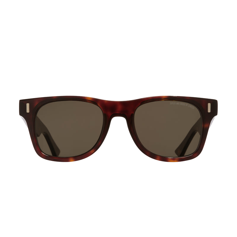 Cutler & Gross 1339 Sunglasses Dark Turtle