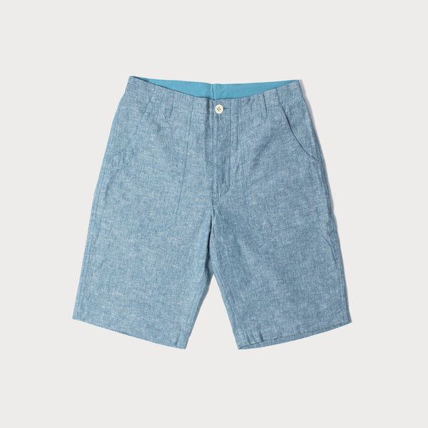 Men's Cotton Shorts (Chambray)