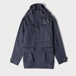Men's Shell Jacket - Navy (Made by Mackintosh)