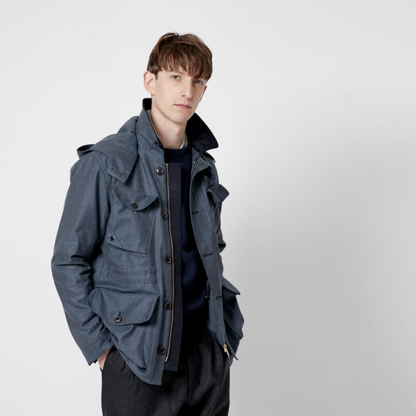 4 Pocket Wool Field Jacket
