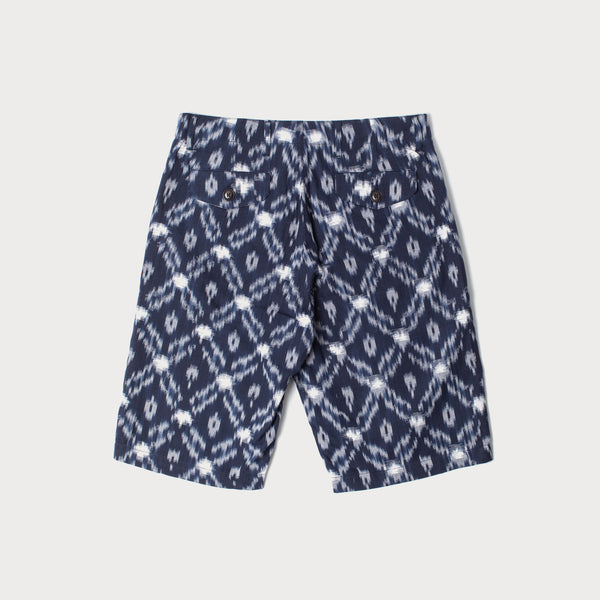 Men's Cotton Shorts (Ikat Weave)