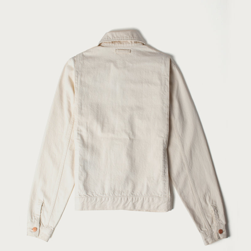 Men's 13oz Japanese Selvedge Denim Jacket (Natural Rinse)