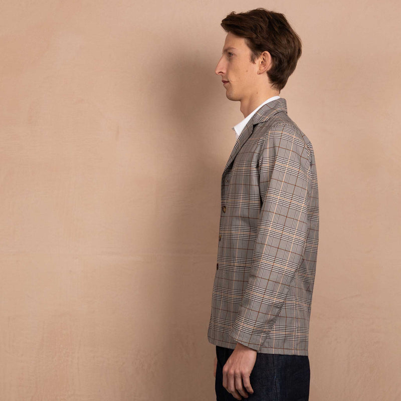 Blazer Unlined (Organic Check Cotton)
