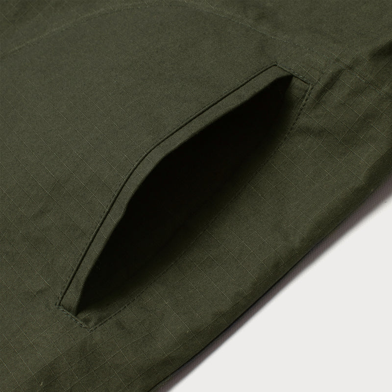 Men's Deck Jacket - Olive Ripstop (Made by Mackintosh)