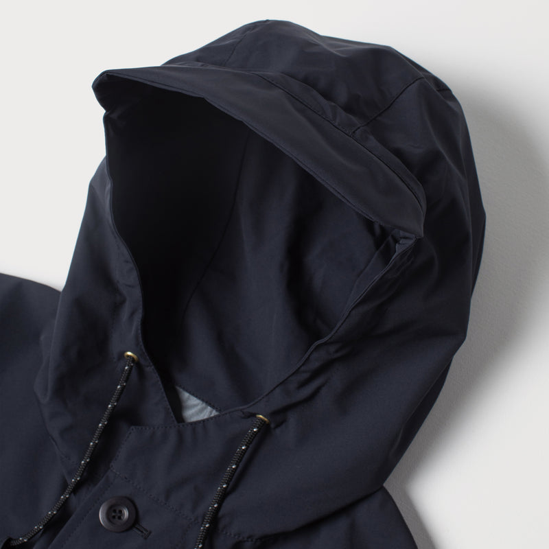 Men's Packable Parka Navy (Made by Mackintosh)