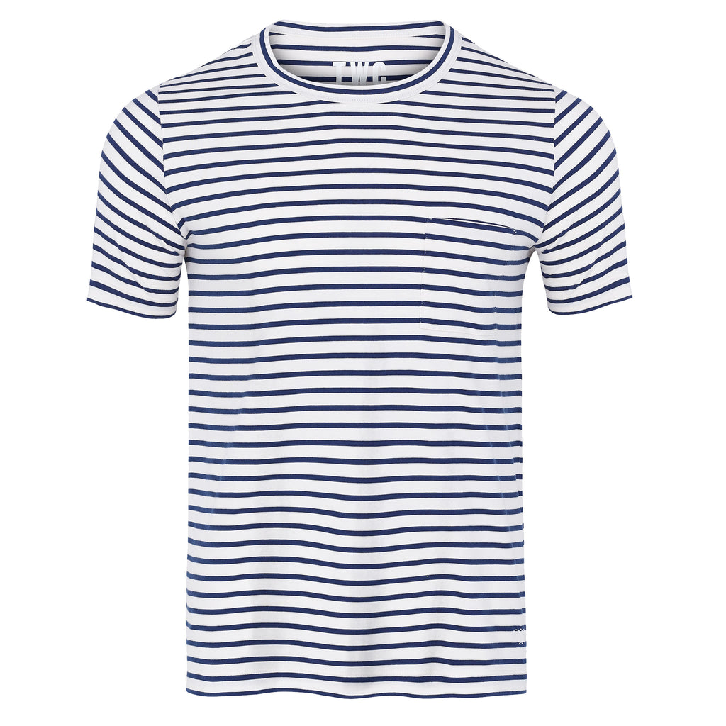 Men's Breton Stripe Short Sleeve T-Shirt
