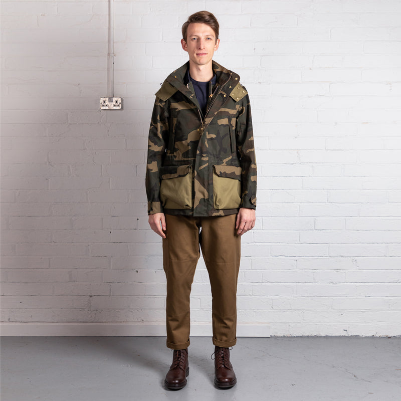 Men's Shell Jacket - Camo (Made by Mackintosh)