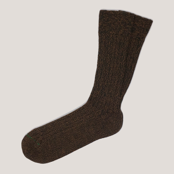Merino Wool Socks (3 Yarn Mix Bracken)