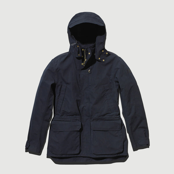 Navy Blue Shell Jacket