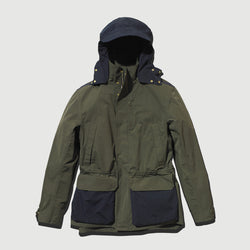 Men's Shell Jacket (Ltd Edition Olive / Navy Blue)