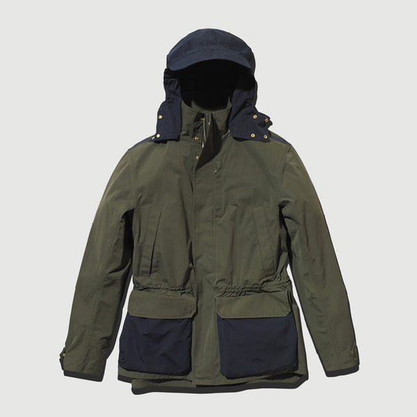 Olive & Navy Blue Shell Jacket / Ltd Edition