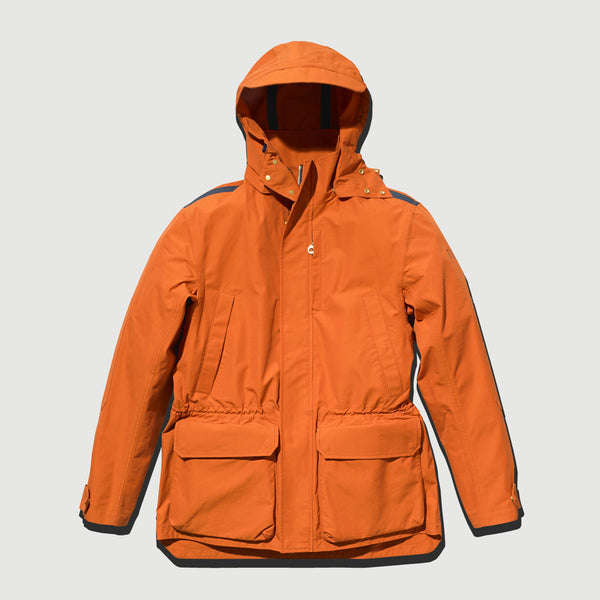 Orange Shell Jacket