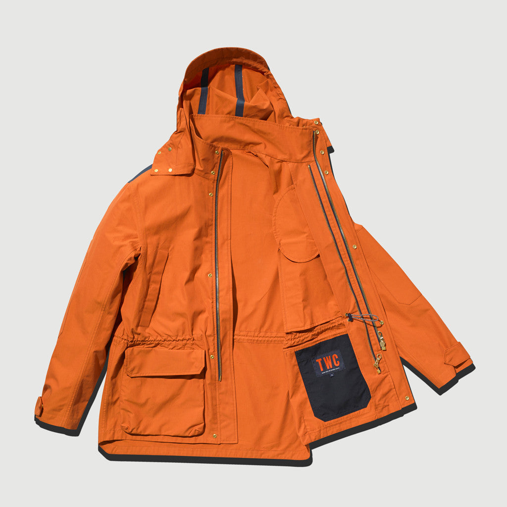 Women's Shell Jacket (Orange)