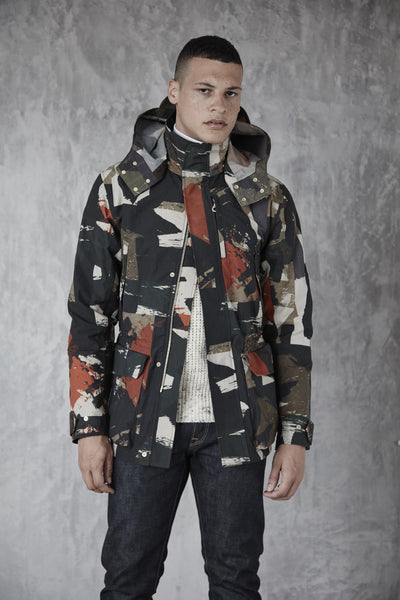 Men's Shell Jacket (Ltd Edition Abstract Camo Print)