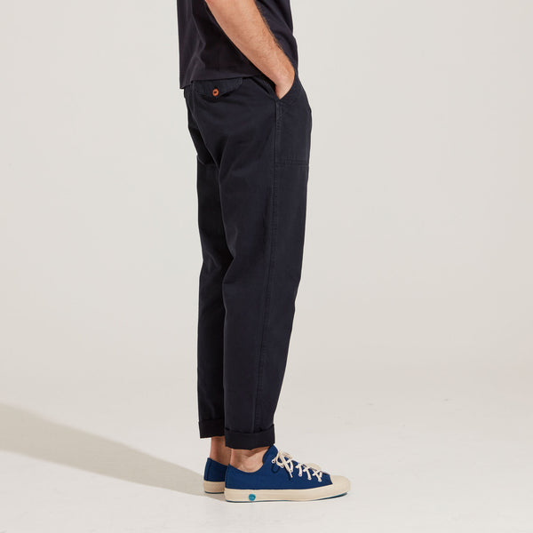 Men's Cotton Chino (Navy)