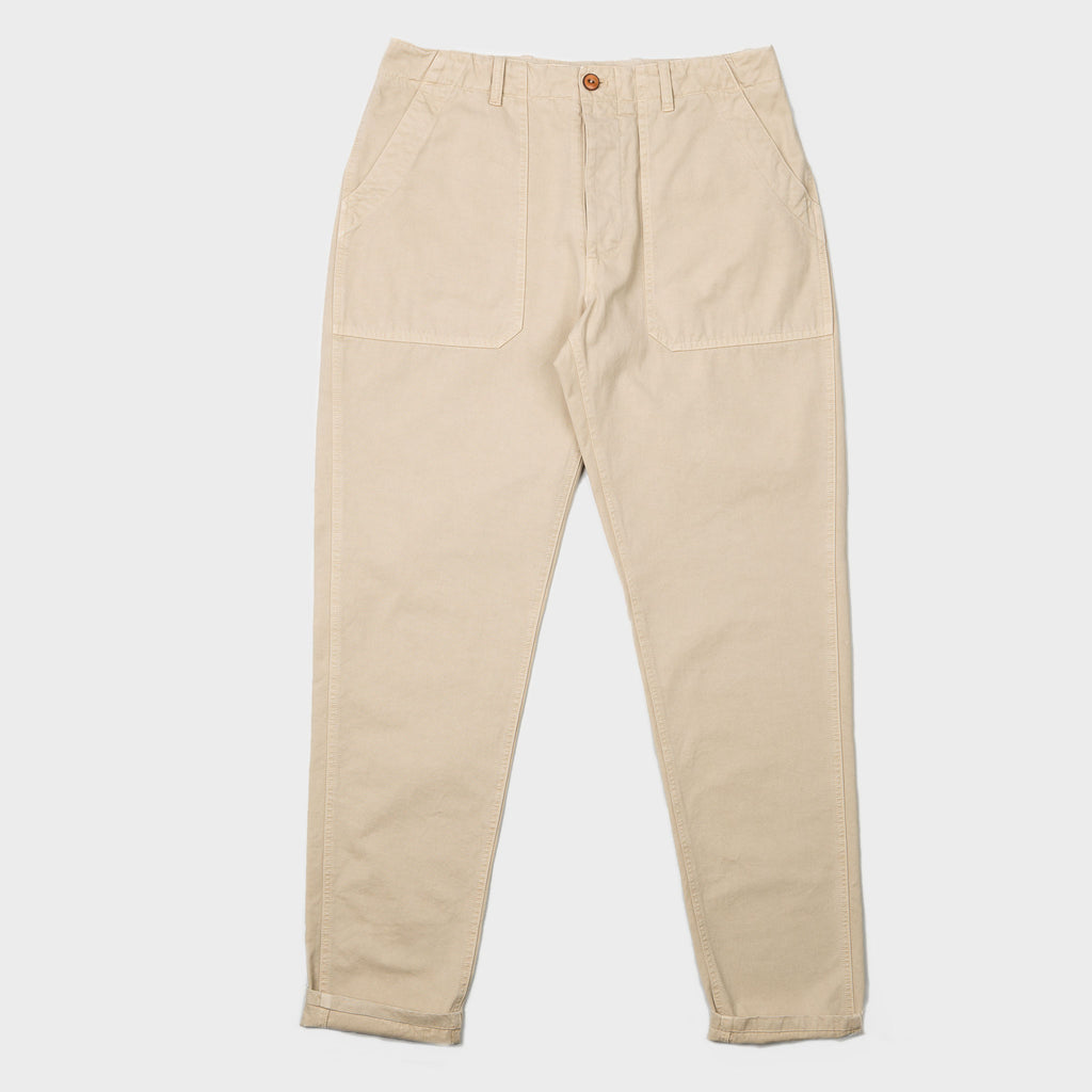 Men's Cotton Chino (Stone)