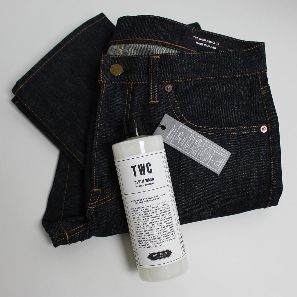 Sea Salt Denim Wash