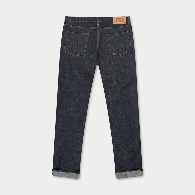 SLIM FIT - Selvedge Denim Jeans - Indigo Raw