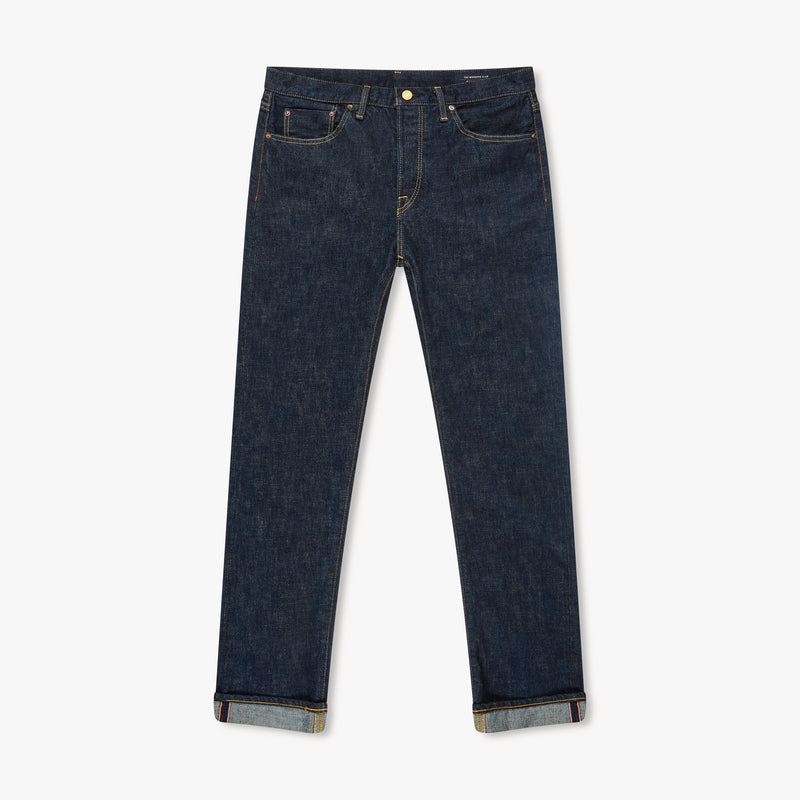 SLIM FIT - Selvedge Denim Jeans - Rinse Wash
