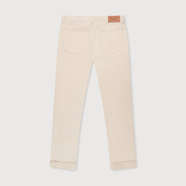 SLIM FIT - Selvedge Denim Jeans - Natural Raw
