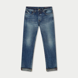 SLIM FIT - Selvedge Denim Jeans - Legacy Wash