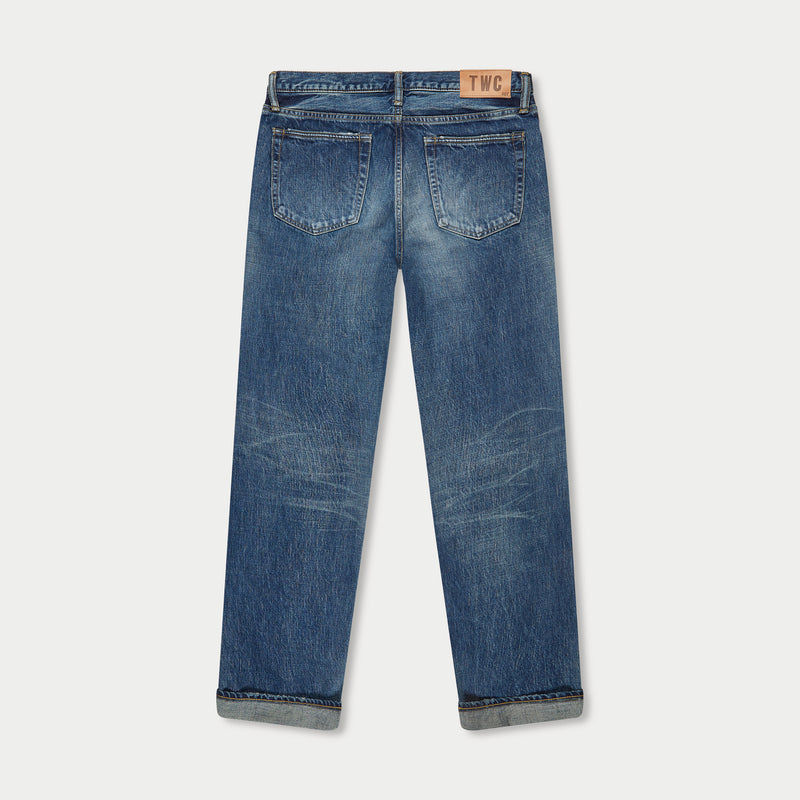 RELAXED FIT - Selvedge Denim Jeans - Vintage Wash