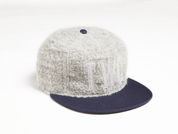 TWC x Ebbets Field Flannels Cap (Ltd Edition Japanese Grey Wool)