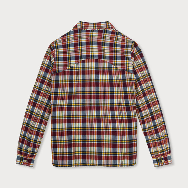 Long Sleeve Popover Shirt (Madras Check)