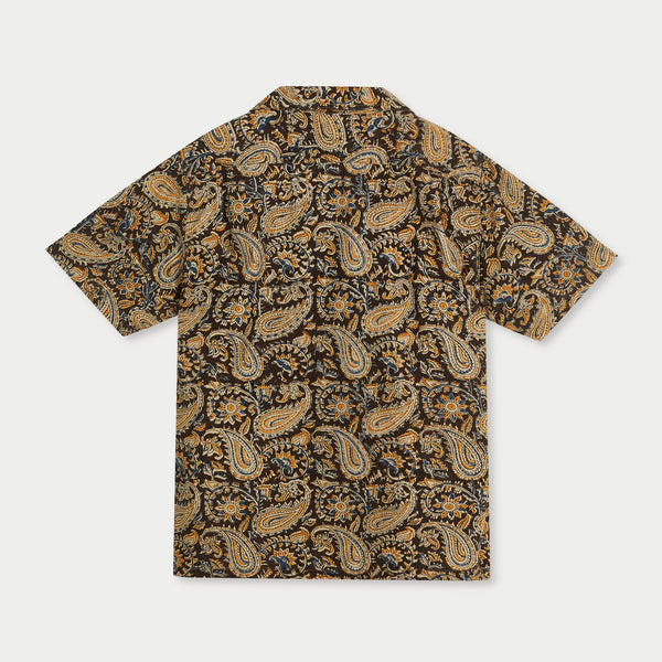 Camp Collar Shirt (Paisley Print)