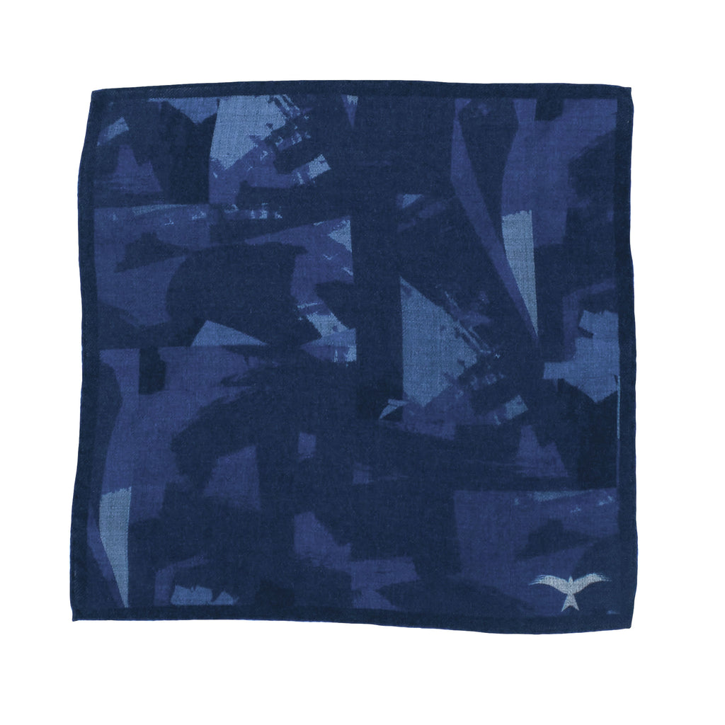 Pocket Square Camo Print
